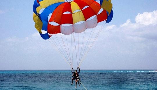 Enjoy 5 Minutes Parasailing In Denpasar Selatan, Indonesia