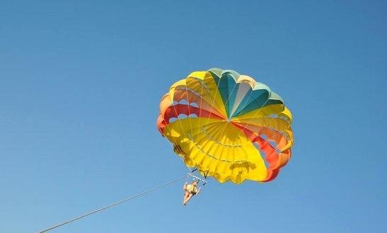 Breathtaking Parasailing Experience In Red Sea Governorate, Egypt