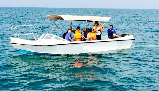 23' Powerboat Dive Charter In Kalpitiya, Sri Lanka