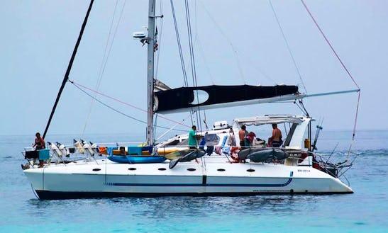 Charter 50' Cruising Catamaran In Malé, Maldives