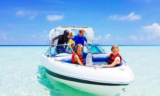 Charter A Bowrider In Maafushi, Maldives