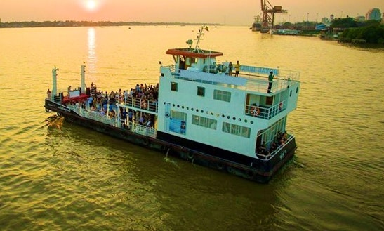 Enjoy Yangon, Myanmar By Passenger Boat