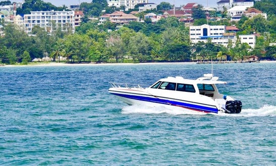 Enjoy A Tour Of Sihanoukville, Cambodia On A Motor Yacht