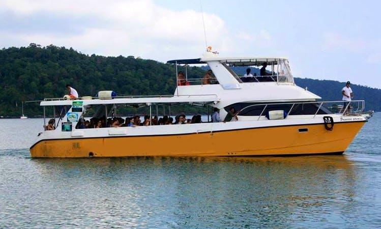 Charter a Power Catamaran in Krong Preah Sihanouk, Cambodia