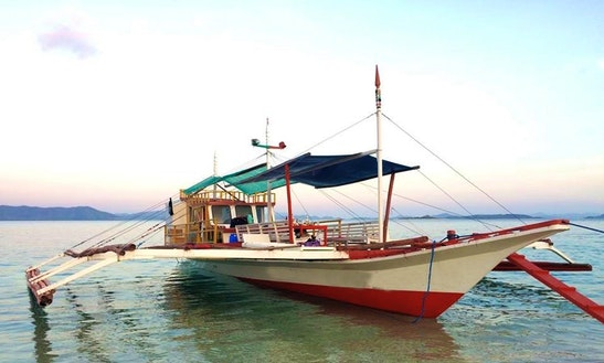 Charter A 12 People Traditional Boat In Coron, Philippines For Your Next Island Hopping Fun