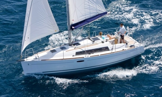 Charter Beneteau Oceanis 31 Sailing Yacht In Costa Brava, Spain