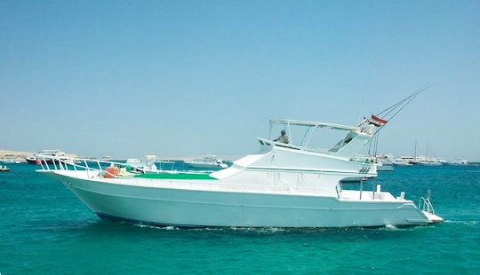Enjoy Fishing In Red Sea Governorate, Egypt On 68' Sport Fisherman