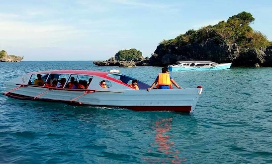 Charter A 20 Person Traditional Boat In Alaminos, Philippines