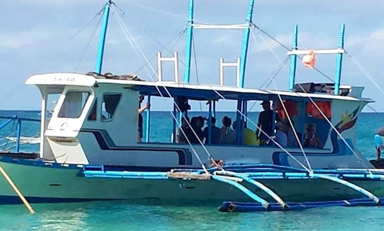 Charter A 20 Person Traditional Boat In Malay, Philippines For Your Next Water Adventure