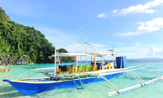 Traditional Boat Rental In Coron, Philippines