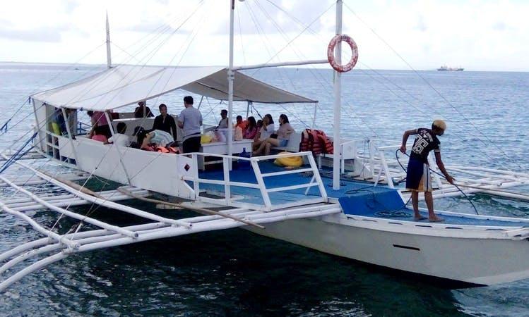 10 Person Boat Trip in Cordova, Philippines