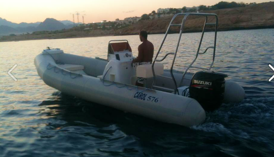 Charter A Rigid Inflatable Boat For 7 People  In South Sinai Governorate