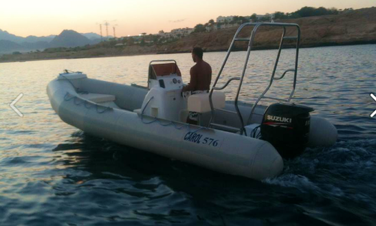 Charter A Rigid Inflatable Boat In South Sinai Governorate, Egypt