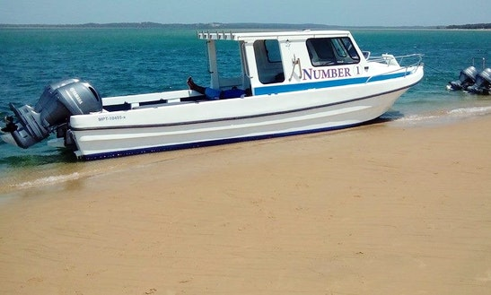 Enjoy Fishing In Maputo, Mozambique On Number 1 Cuddy Cabin