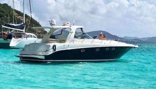 Sea Ray 460 Sundancer Motor Yacht Rental In St. Thomas