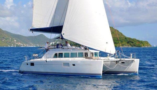 Charter Catatonic In The British Virgin Islands