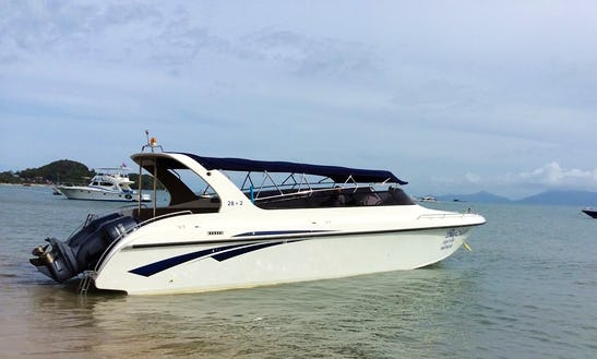 Full Day Trip On A Motor Yacht In Surat Thani, Thailand