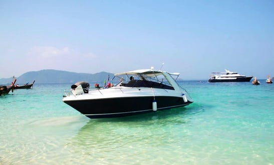 Sunset Tours Available On A Bowrider Charter In Ko Samui, Thailand