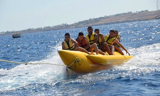 Rent A 6 Person Inflatable Banana Boat In South Sinai Governorate, Egypt