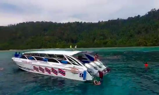 Cruise In Style In Tambon Ko Lanta Noi, Thailand On A Motor Yacht Charter