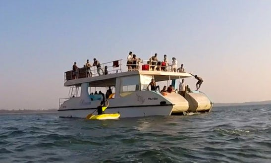 Charter A Power Catamaran In Anjuna, Goa