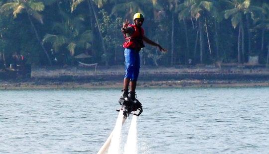 Enjoy Flyboarding In Anjuna, Goa