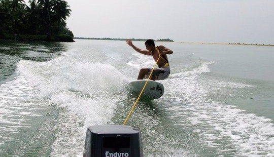 Enjoy Wakeboarding In Anjuna, Goa