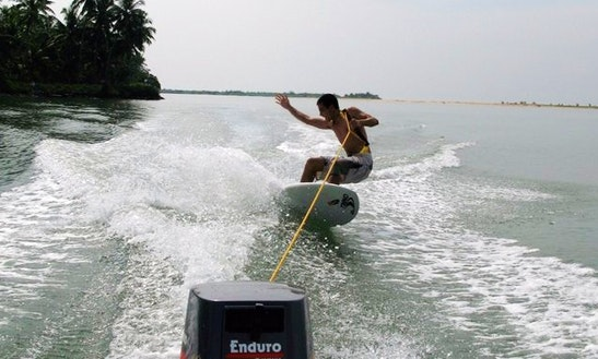 Enjoy Wakeboarding In Anjuna, Goa