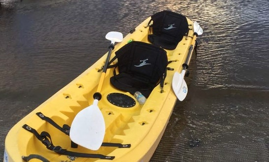 Kayak In Daytona Beach