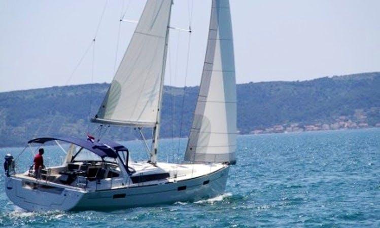 """Oceanis 45 """"Nikita"""" Charter in BVI"""