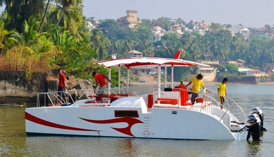 Charter On Catamaran Rare In Goa