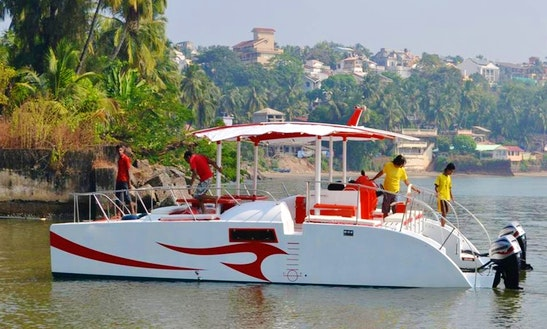 Charter On Catamaran Rare In Goa