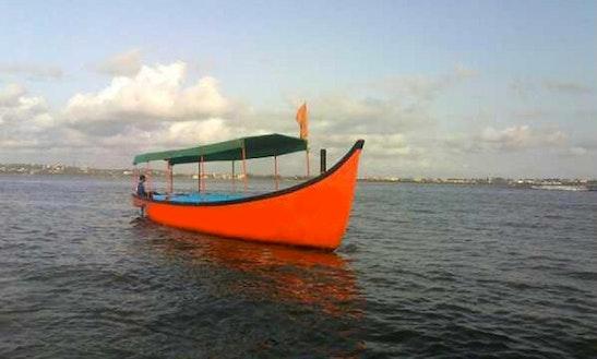 Enjoy Fishing In Nerul, Goa On Passenger Boat