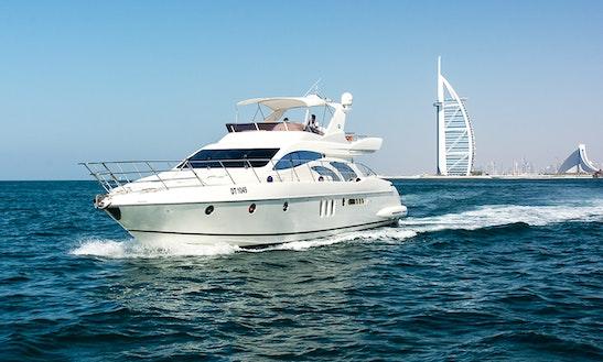 Azimuth 62' Luxury Yacht In Dubai, United Arab Emirates