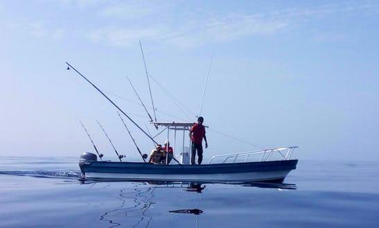 Dinghy Fishing Charter In Watamu