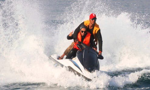 Get a guided jet ski ride or ride solo in Karachi, Pakistan