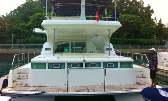 Power Catamaran For Rent In Singapore