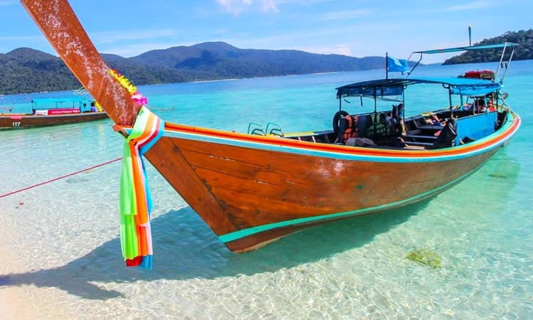 Long tail Boat for rent