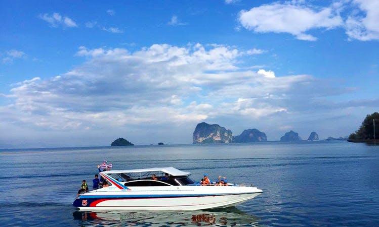 Motor Yacht Rental in Tambon Bo Hin, Thailand