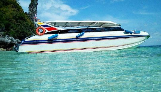Charter A Motor Yacht In Krabi Islands, Phuket