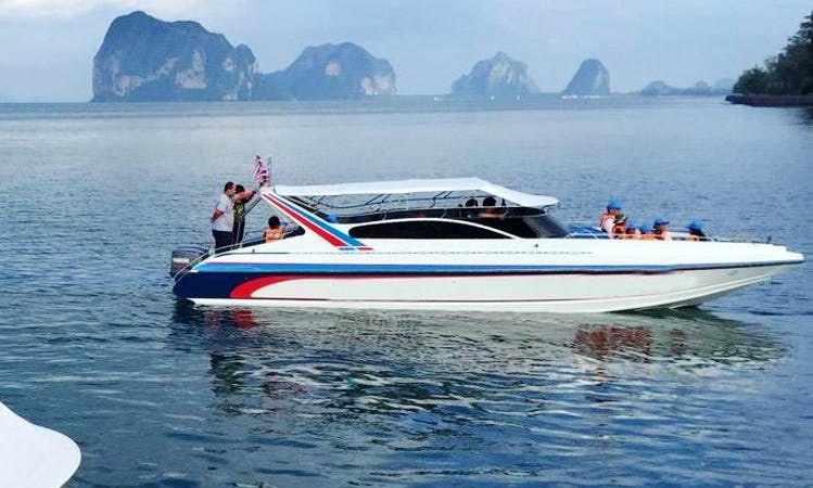 Talay Trang Speed boat I in Trang
