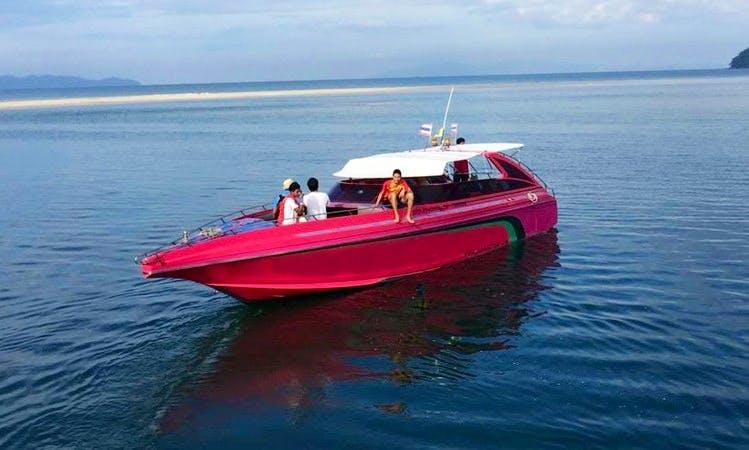 Talay Trang Speed Boat II in Trang