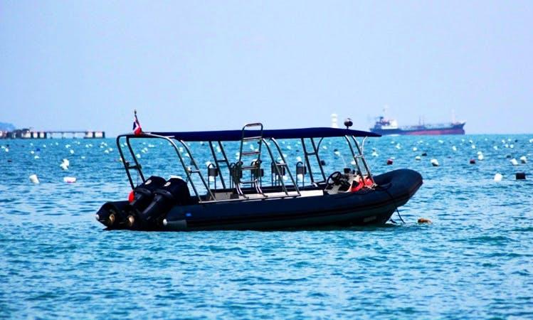 "Enjoy 24-ft ""Diversant"" RIB Charter in Phuket, Thailand"