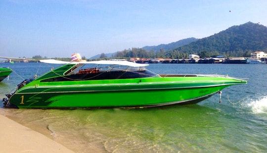 Speed Boat Rental In Tambon Ko Lanta Noi, Thailand For Up To 24 People