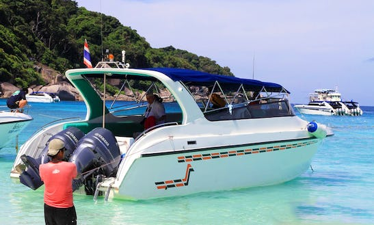 Family Charter Speedboat In Khao Lak