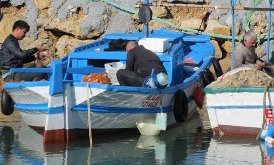 Enjoy Fishing In Antalya, Turkey On A Dinghy