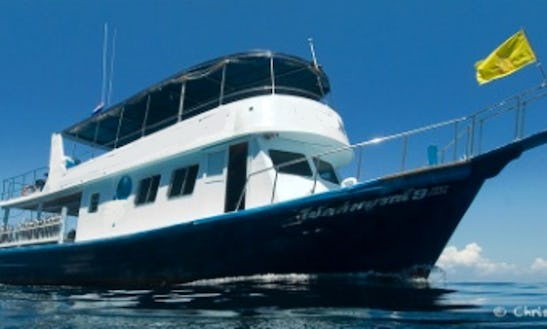 "The ""choksomboon 9"" Dive Charter In Thailand"