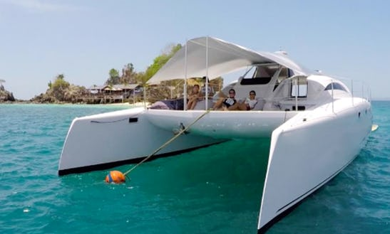 Charter 44' Stealth Power Catamaran In Phuket, Thailand