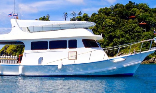 Enjoy 49 Ft Mv Moskito Diving Boat In Tambon Sala Dan Chang Wat Krabi