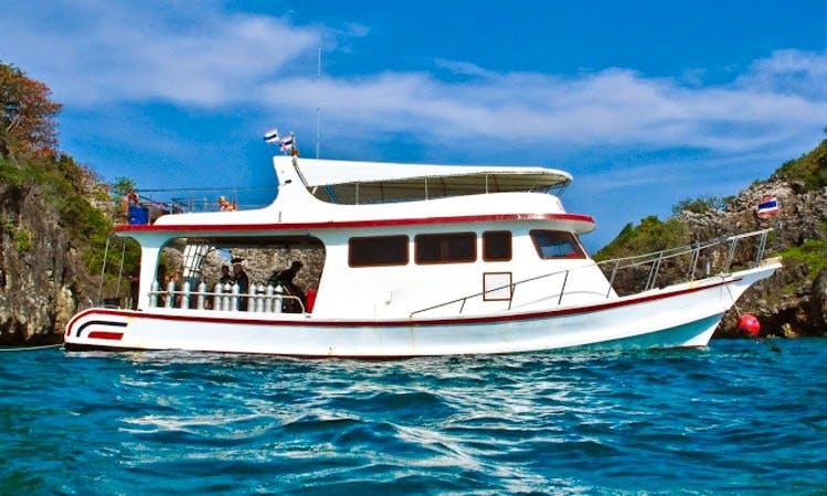 Enjoy 49 ft MV Moskito Diving boat in Tambon Sala Dan Chang Wat Krabi
